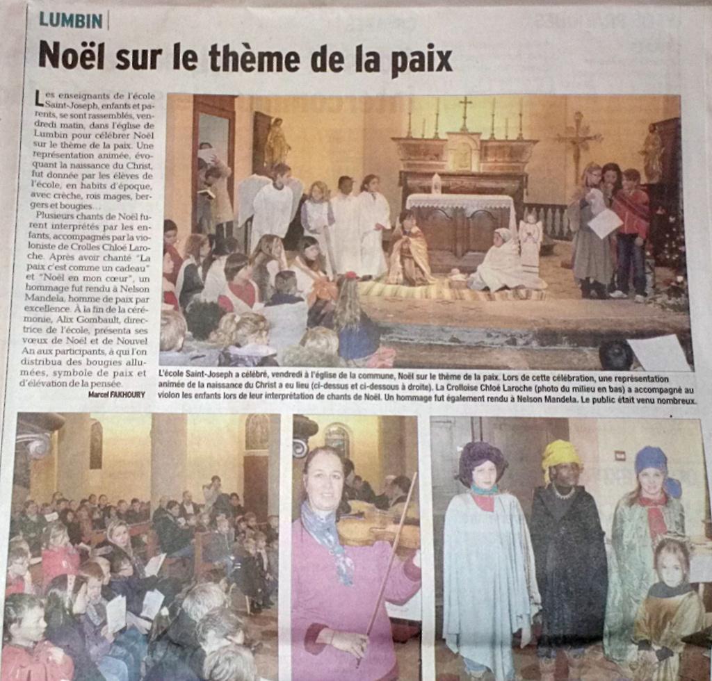 DL-20131221 Célébration de Noël à l'église de Lumbin