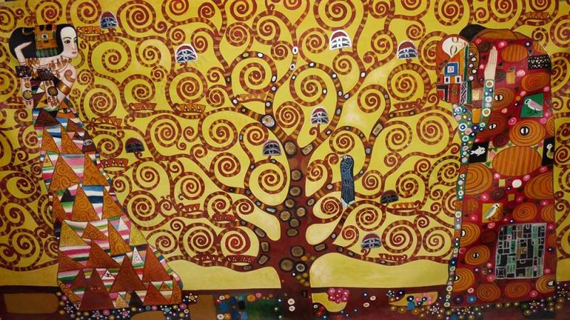 201510 - projet Klimt - 01 - arbre Klimt