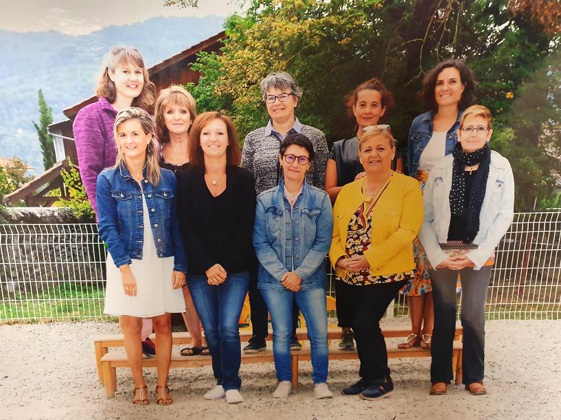 Equipe pédagogique 2019-09