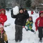 Enfants dans la neige 01