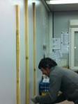 Préparation du support pour le TBI 03